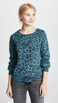 Pam & Gela Leopard Sweatshirt