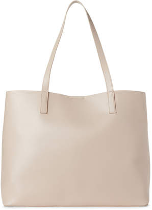 Street Level Nude Faux Leather Tote