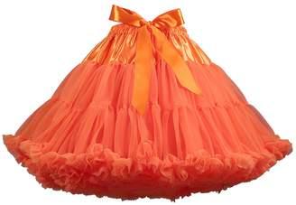 ZAMME Women's Girls Dress-Up Layered Ballerina Princess Tutu Skirt