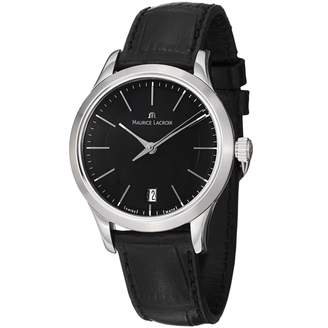 Maurice Lacroix Women's LC1026-SS001330 Les Classiques Dial and Leather Strap Dial Watch
