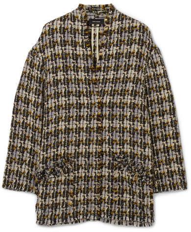 Isabel Marant - Jamsy Wool-blend Tweed Jacket - Beige