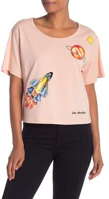 Love Moschino Space Patchwork Tee