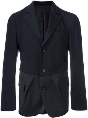 Lardini Wooster + bi-colour combined blazer
