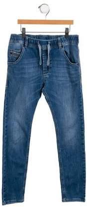 Diesel Boys' Five Pocket Skinny Jeans
