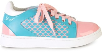 Brixton Yull Shoes Fish Scale