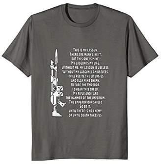 Mini A Ture My Lasgun Miniature Wargamer T-Shirt Wargaming Shirt