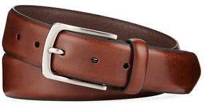 Neiman Marcus Men's Feather Edge Leather Belt