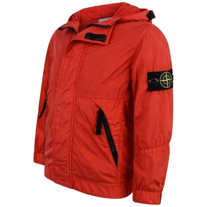 Stone IslandBoys Bright Red Lightweight Jacket