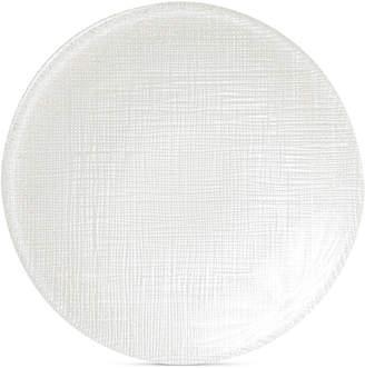 Vietri Glitter Glass Linen Canape Plate