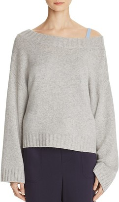 Vince Cashmere Slouch Sweater $345 thestylecure.com