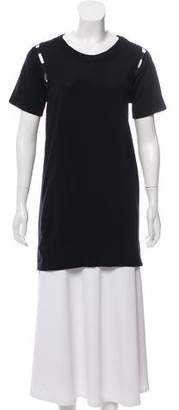 Maison Margiela Short- Sleeve Tunic Top