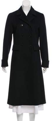 Luciano Barbera Double-Breasted Wool Coat