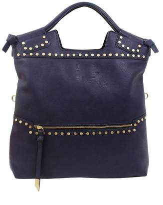 Foley + Corinna Mid City Studded Liberated Vegan Leather Tote