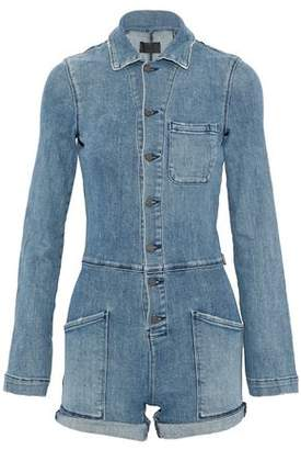 RtA Denim Playsuit