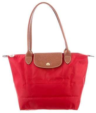 Longchamp Nylon & Leather Le Pliage Tote