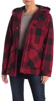 Pendleton Alta Plaid Wool Blend Coat