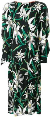 Diane von Furstenberg printed shift dress