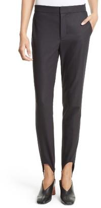 Women's Helmut Lang Stirrup Pants $360 thestylecure.com