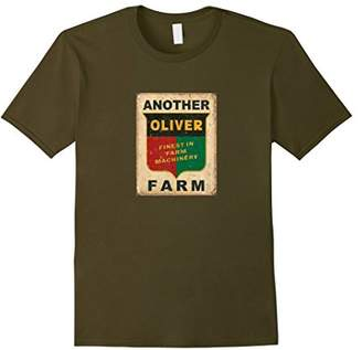Antique Farm Tractor Collector on Dark T-shirt FRONT
