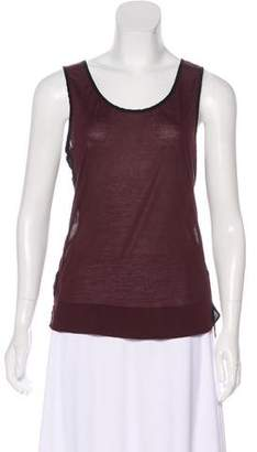 AllSaints Colorblock Sleeveless Top