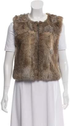 Patterson J. Kincaid PJK Rabbit Fur Vest