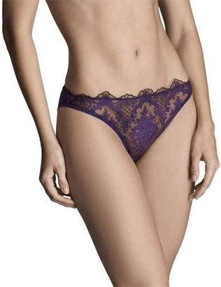 I.D. Sarrieri Endless Night Lace Thong