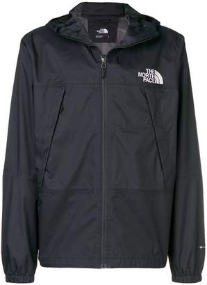 The North Face hooded wind breaker jacket