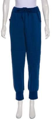 Aviator Nation High-Rise Knit Sweatpants