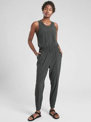 Athleta Hillside Mesh Romper