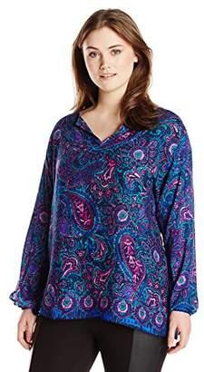 Single Dress Women's Plus Size Marisol Long Sleeve Blouse $126 thestylecure.com