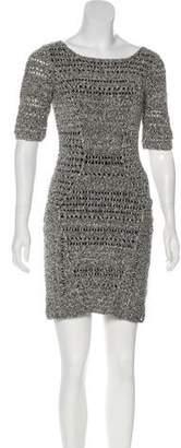 Rag & Bone Bouclé Mini Dress
