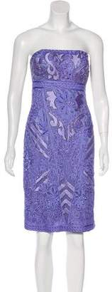 Sue Wong Embellished Cocktail Dress