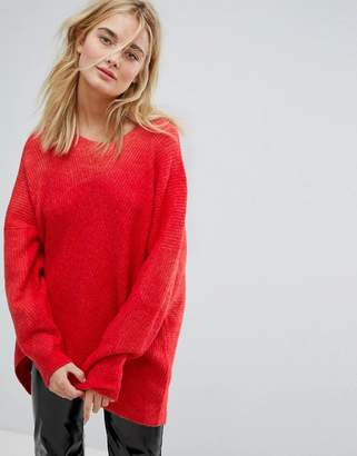 Weekday Hi Lo Knit Jumper