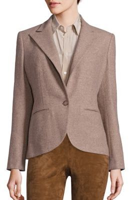 Polo Ralph Lauren Tweed Blazer $598 thestylecure.com