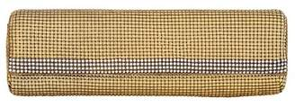 Whiting & Davis Bead Mesh & Crystal Embellished Baguette Clutch