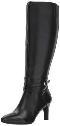Lauren Ralph Lauren Lauren by Ralph Lauren Women's Elberta-W Fashion Boot 7 B US