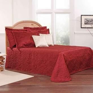 Gardenia Twill & Birch Belle Maison Embroidered Quilted Bedspread