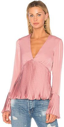 Lovers + Friends Fain Top in Pink $128 thestylecure.com