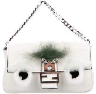 Fendi Bag Bug Micro Baguette Bag