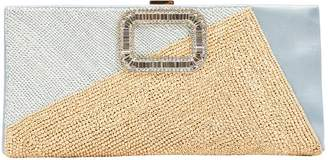 Roger Vivier Cloth Clutch Bag