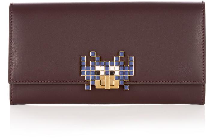Anya HindmarchANYA HINDMARCH Space Invader Bathurst leather wallet
