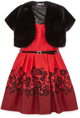 Knitworks Knit Works 2-pc. Jacket Dress Girls