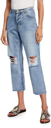 CAARA Arizona Ripped Cropped Jeans