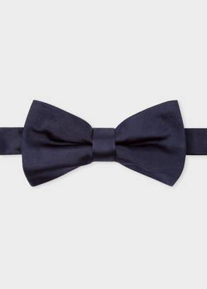 Paul Smith Men's Navy Silk-Twill Bow Tie