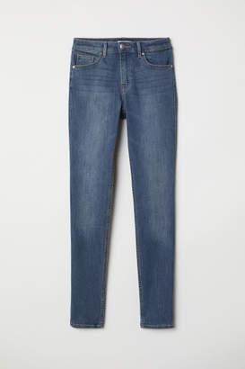 H&M Pants Skinny fit - Blue
