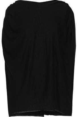 Rick Owens Lilies Oversized Jersey Top