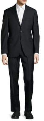 Saks Fifth Avenue Pinstripe Wool-Blend Suit