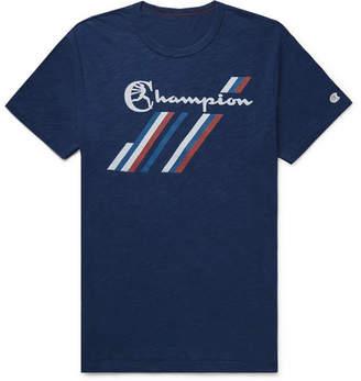 Todd Snyder + Champion Logo-Print Slub Cotton-Jersey T-Shirt