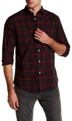 Slate & Stone Plaid Point Collar Shirt