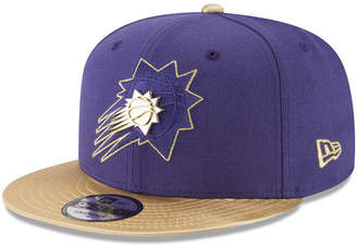 New Era Phoenix Suns Triple Gold 9FIFTY Snapback Cap